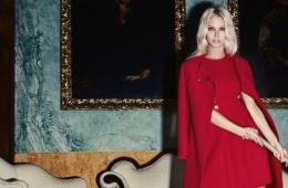Luisa Spagnoli campagna pubblicitaria autunno inverno 2017
