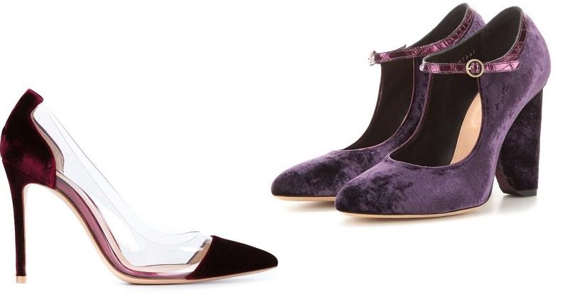 scarpe in velluto 2017 foto