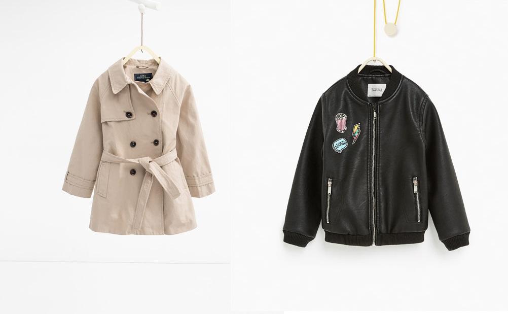 Zara kids 2017 catalogo cappotti - Zara kids catalogo ...