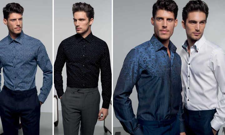 Outfit Ufficio Uomo : Nara camicie uomo  collezione catalogo autunno inverno