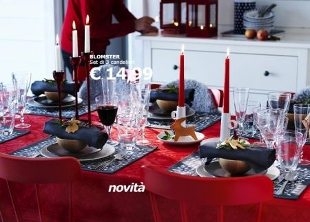 Tendenze decorazioni natale 2016 come addobbare casa for Natale ikea 2018
