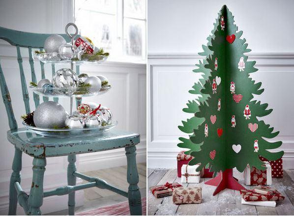 Tendenze decorazioni natale 2016 come addobbare casa - Decorazioni natalizie stile shabby chic ...