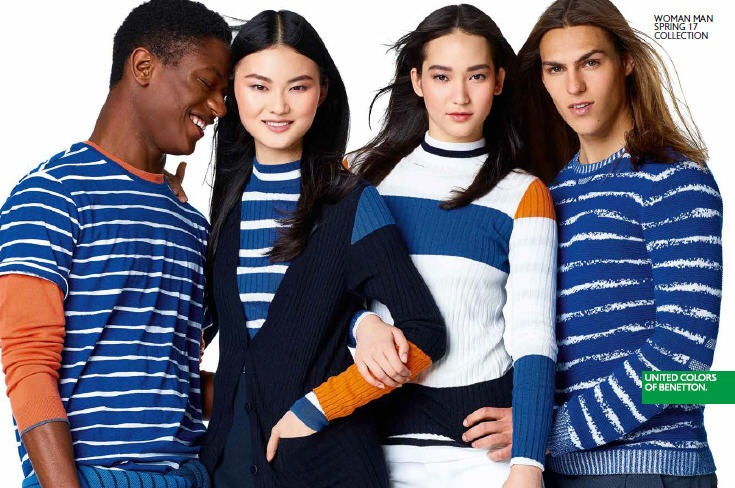 benetton 2017 catalogo primavera estate prezzi e foto