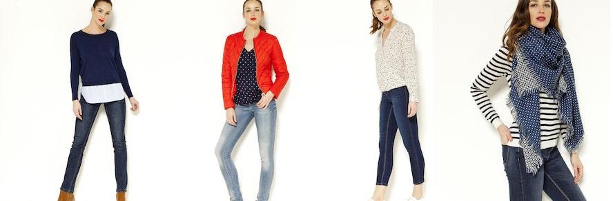 camaieu collezione 2017 jeans