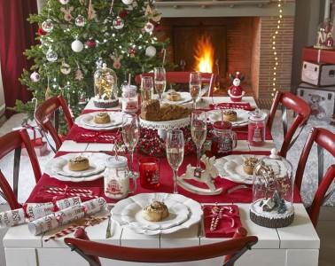 maison du monde catalogo natalizio 2016 tavola