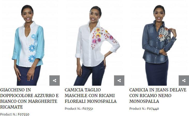 nara camicie catalogo 2017 colorate