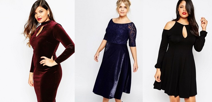 outfit curvy natale 2016 elegante
