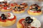 Ricetta pizzette di polenta