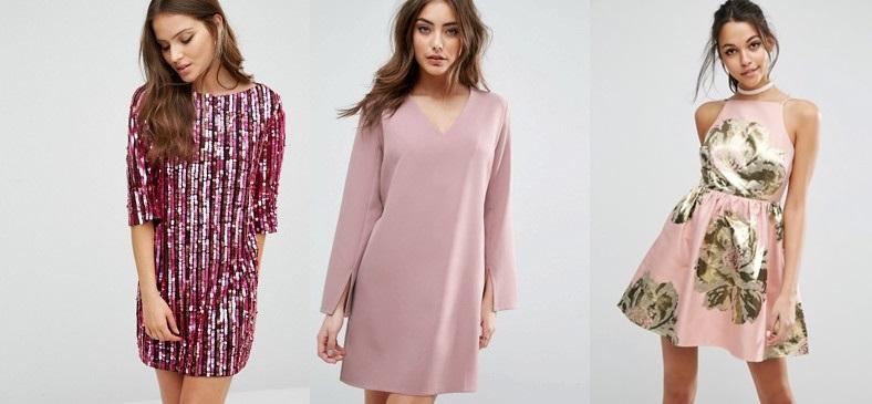 outfit capodanno 2017 abiti rosa