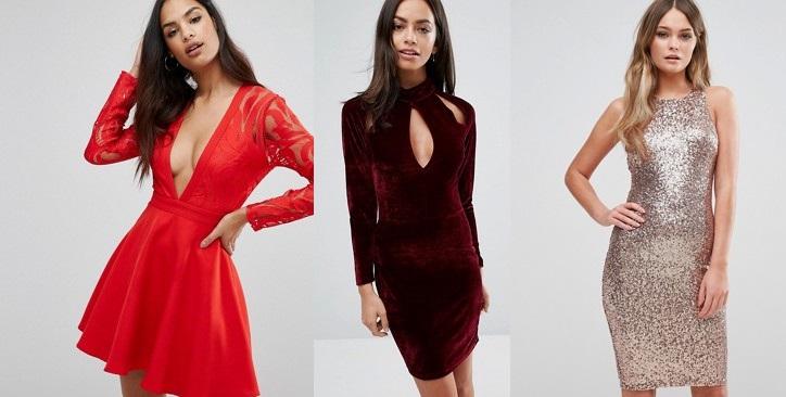 outfit capodanno 2017  abiti sexy