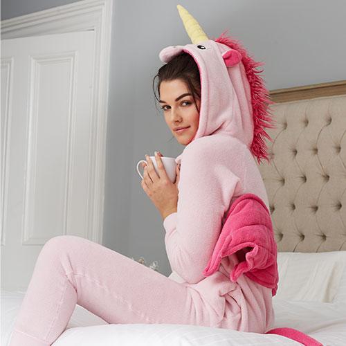 pigiami natale 2017 unicorno