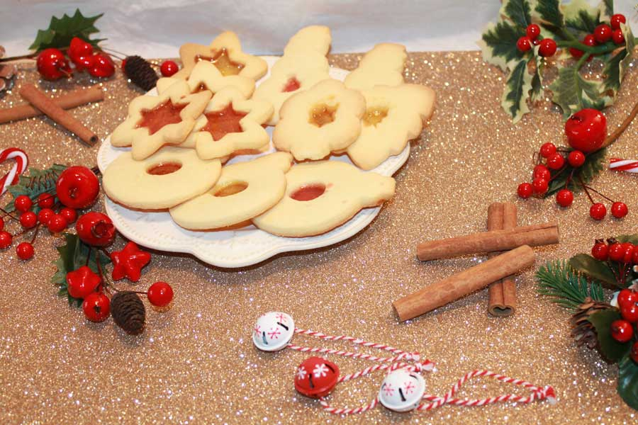 ricetta biscotti natale 2016 stained glass cookies