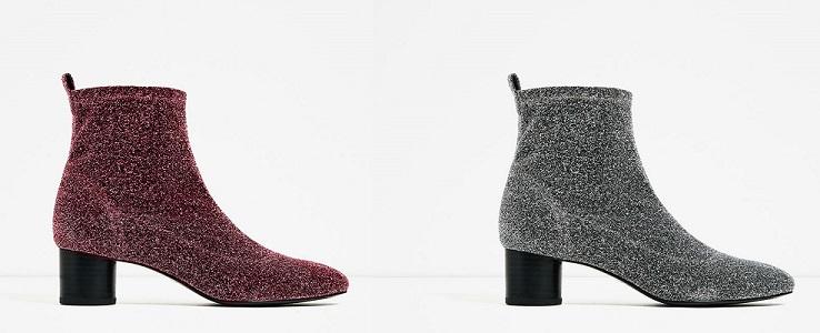 Zara Evening Natale 2016 stivali