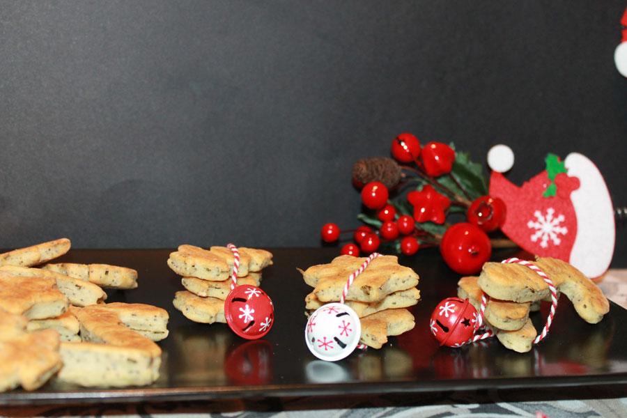 ricetta biscotti natalizi salati segnaposto facili