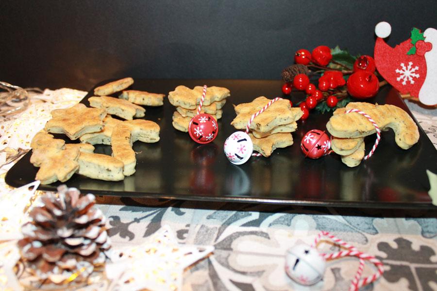 ricetta biscotti natalizi salati segnaposto idee