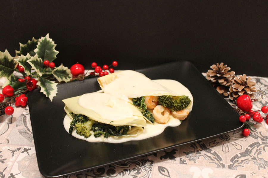 ricetta crespelle con farina di riso spinacini e broccoli