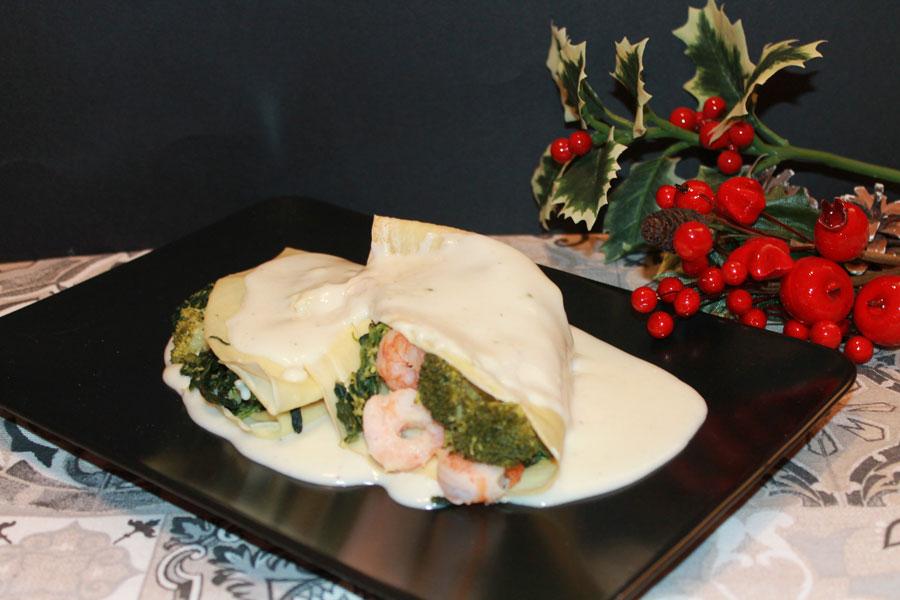 ricetta crespelle con farina di riso spinacini e gamberetti
