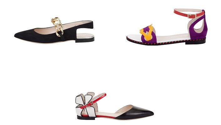 lella baldi 2017 collezione sandali flat
