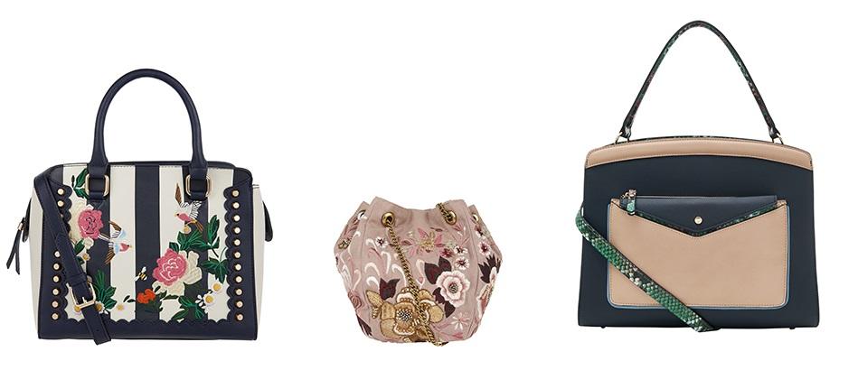 accessorize borse a fiori