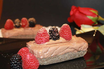 ricetta cheesecake romantica senza cottura