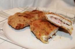 ricetta cordon bleu di maiale al forno