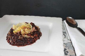 ricetta riso artemide con verza e salsiccia