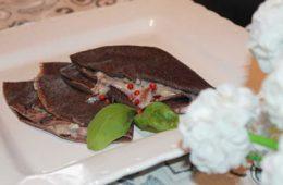ricetta crespelle farina di riso artemide radicchio e gorgonzola