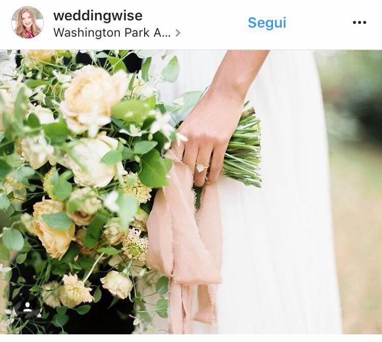 matrimonio greenery bouquet