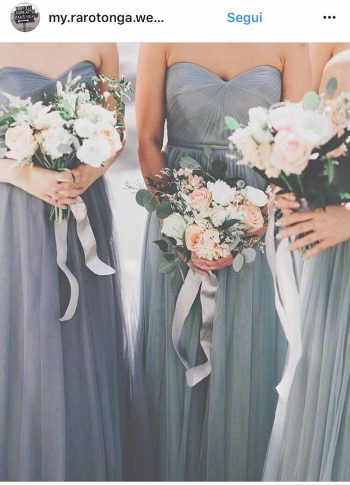 Tendenze colori matrimonio 2018 abiti