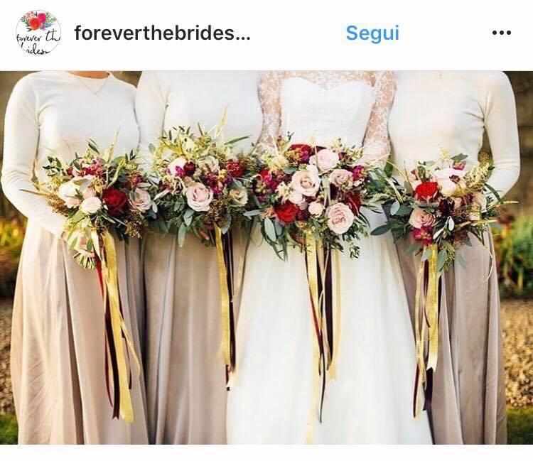 Tendenze colori matrimonio 2018 nocciola
