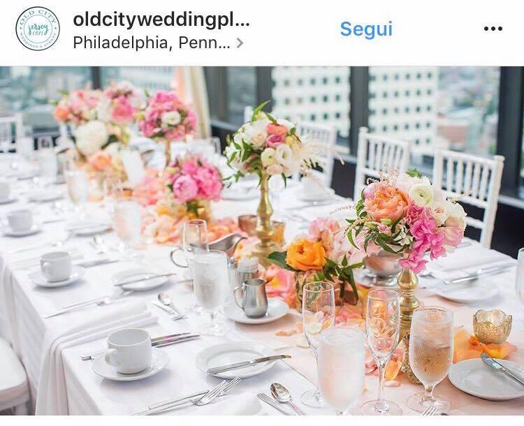 Tendenze colori matrimonio 2018 decorazioni