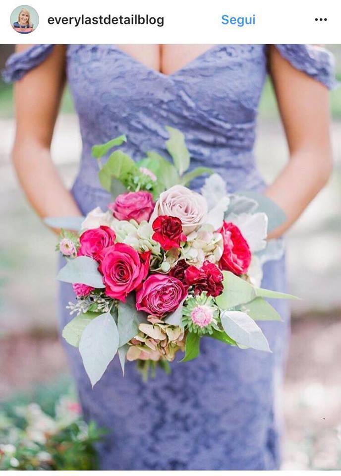Tendenze colori matrimonio 2018 foto
