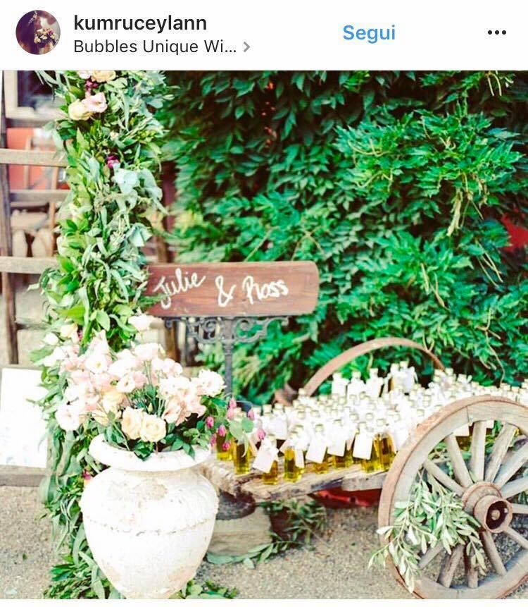 matrimonio greenery decorazioni