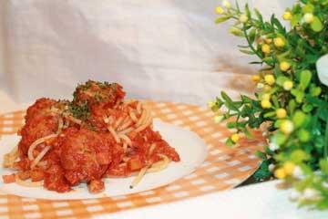 ricetta spaghetti con polpettine di seitan