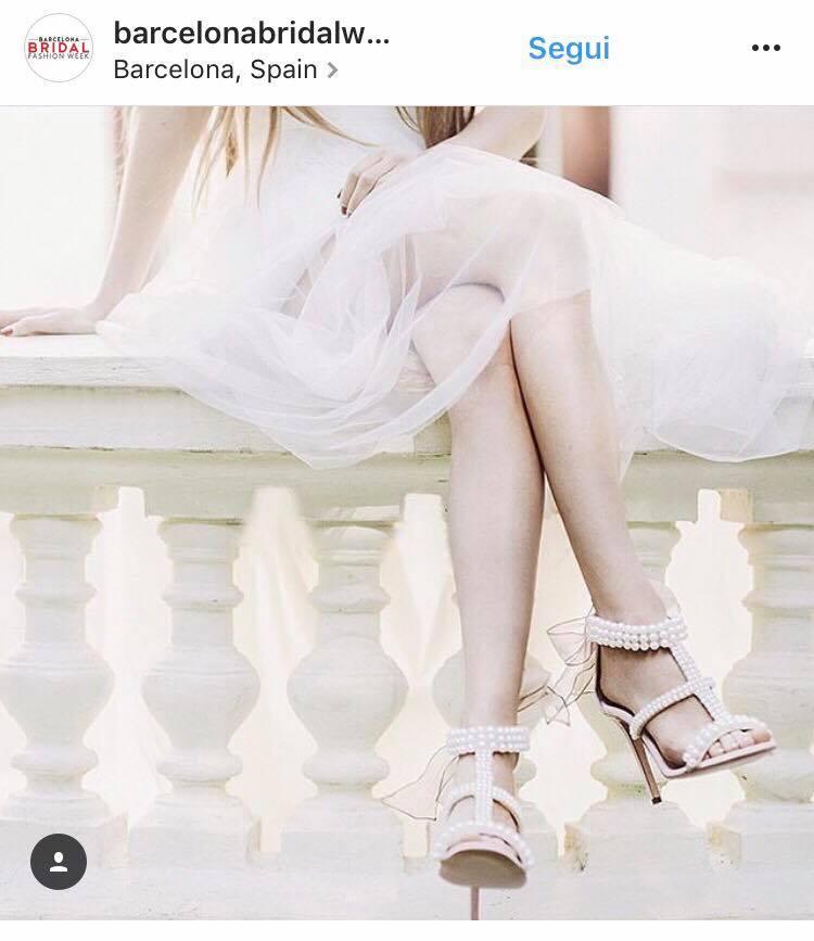 scarpe sposa 2018 gioiello