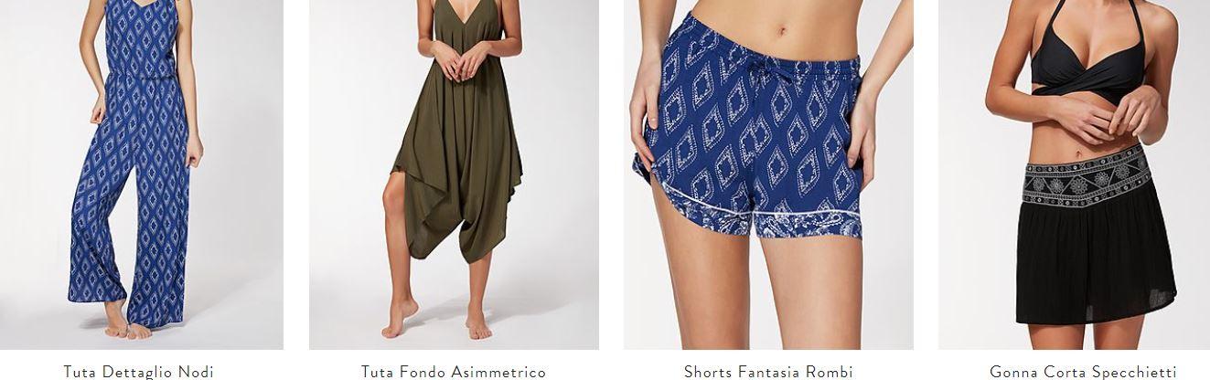 pantaloncini mare calzedonia