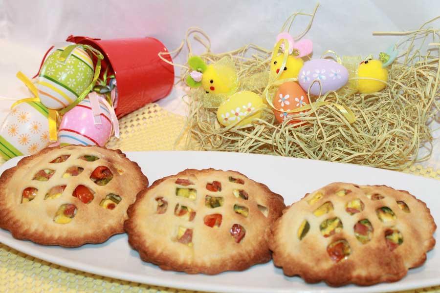 ricetta mini pasqualine asparagi feta e pomodorini ciliegia finger food