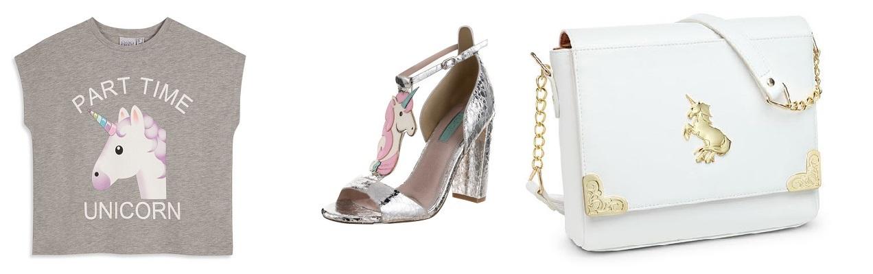 tendenze unicorno scarpe borse