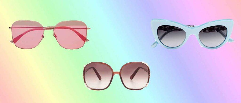 tendenze occhiali da sole estate 2017