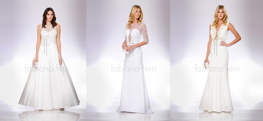 abiti cerimonia fabiana ferri corti 2017 · abiti da sposa fabiana ferri  collezione 66804e74083