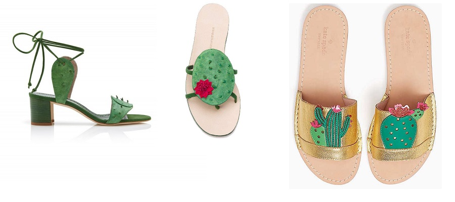 cactus tendenza estate 2017 scarpe