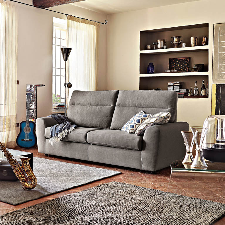 Poltrone sofa perugia divanoletto posti e pouf staccato - Prezzo divano poltrone e sofa ...