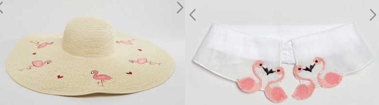 accessori fenicotteri moda estate 2017