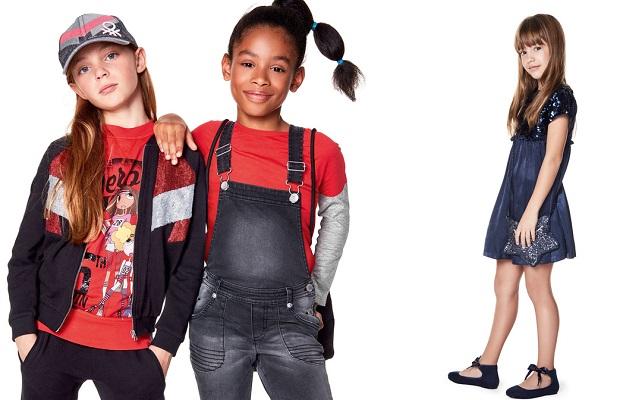 Benetton kids 2017 2018 la collezione per bambini e for Benetton catalogo 2017