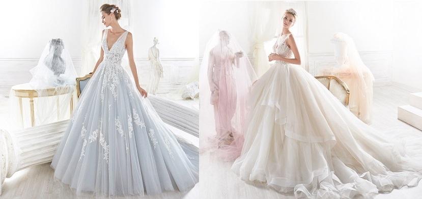 nicole spose 2018 abiti sposa principessa