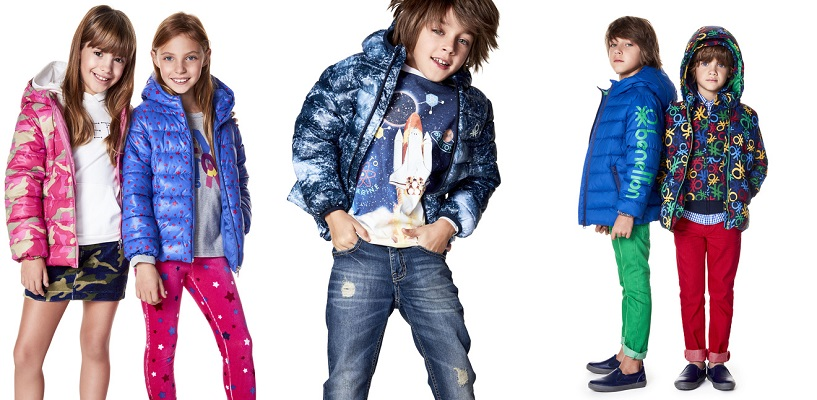 benetton 2018 kids piumini