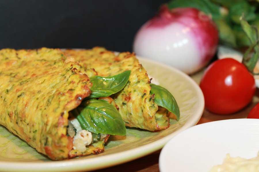 ricetta mini tacos di zucchine