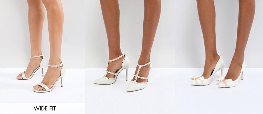scarpe sposa 2019 asos