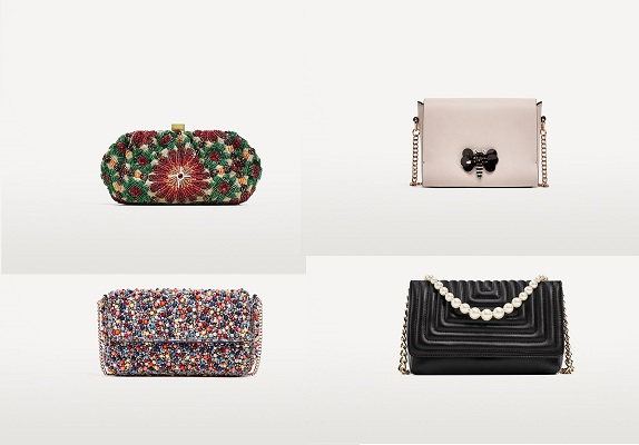 Borse Zara 2018 catalogo clutch