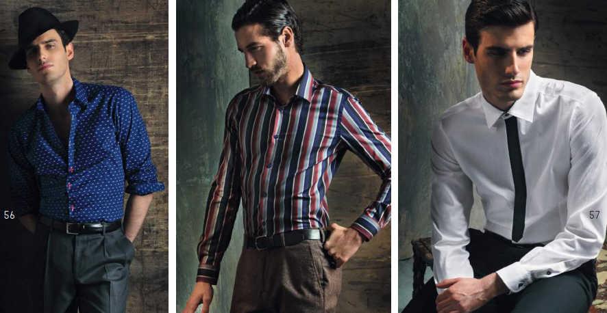 Nara Camicie uomo 2018 catalogo